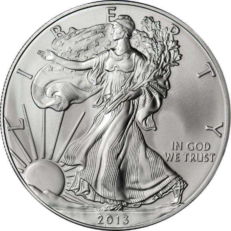 Silver Eagle 1 Oz Bu